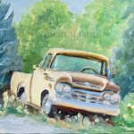 """Yellow Truck"" 8x10 Paonia, Colorado"